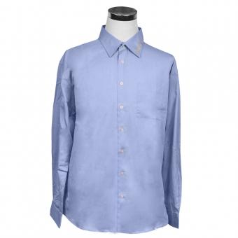 Business Long Sleeve Shirt, blue