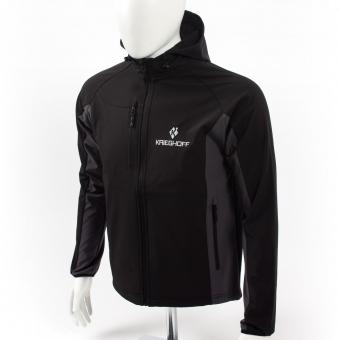 Performance Softshell Jacket, black/grey