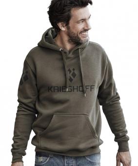 Sweatshirt mit Kapuze, olivgrün