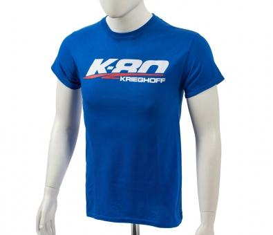 T-Shirt K-80, blau