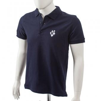 Casual Polo Shirt, Herren Marine | M