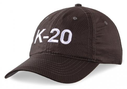 Schildkappe K-20, grau